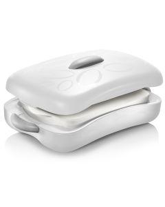 Thermobehälter mit Auflaufform (2,5 Liter) Zum Warmhalten und Kühlen